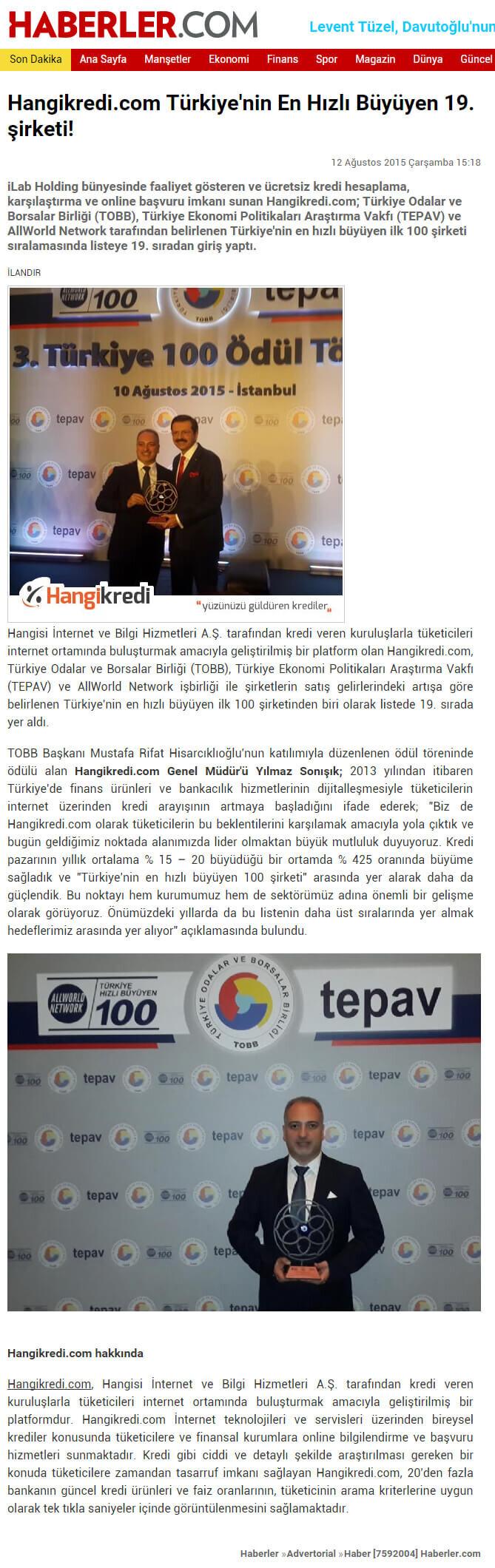 Basında Hangikredi.com 32