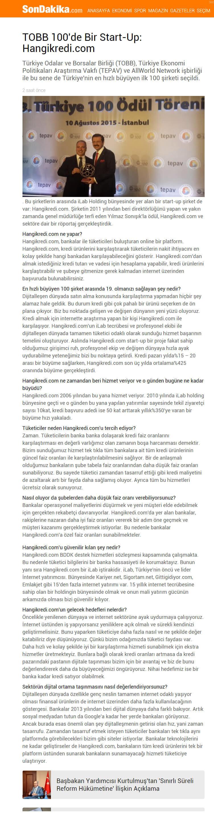 Basında Hangikredi.com 29