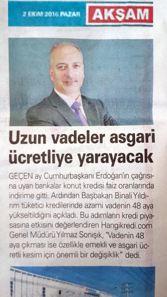 Basında Hangikredi.com 23