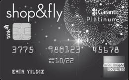Garanti BBVA Shop&Fly Platinum Kredi Kartı