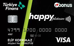 Happy Kart Platinum Türkiye Finans