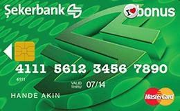 Şeker Bonus Card Şekerbank
