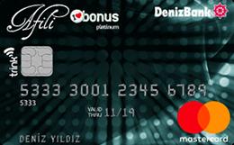 Afili Bonus Platinum DenizBank